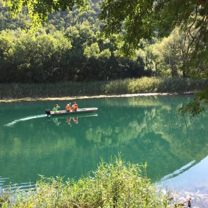 boat tours on rivers in krka national park croatia