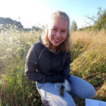 Photo of Alina R volunteering at our Transylvania site